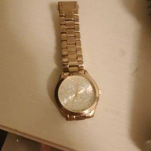 Gold Mk watch